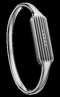 Accesoriu bratara metalica fitness Fitbit Flex 2 marimea L argintie