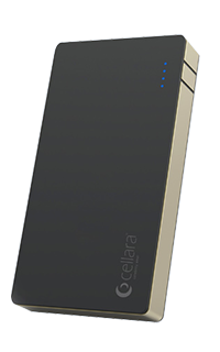 Accesoriu baterie externa Cellara Xstorm capacitate 4000 mAh neagra