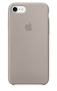 Accesoriu protectie spate Apple din silicon pentru iPhone 7 mov
