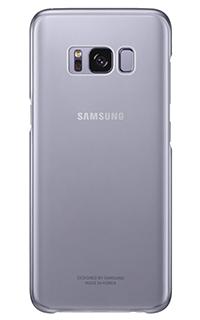 Accesoriu protectie spate Samsung pentru Samsung S8 plus transparent mov