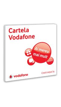 Cartela Vodafone cu credit initial 5E