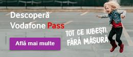 Descoperă  Vodafone Pass