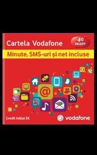 Cartela Vodafone cu 5 E credit