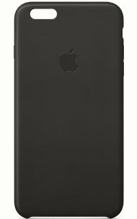 Carcasa Neagra Apple din piele pentru iPhone 6 Plus