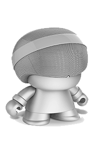 Accesoriu boxa portabila Grand Xboy argintie