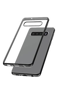 Accesoriu protectie spate Cellara colectia Electro pentru Samsung S10 negru