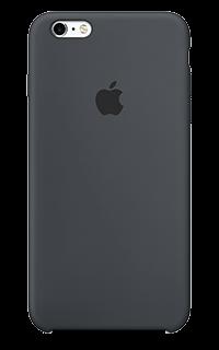 Accesoriu carcasa spate Apple din silicon pentru iPhone 6S Plus gri