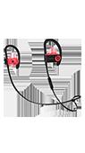 Accesoriu casti in-ear PowerBeats 3 by Dr.Dre wireless rosii