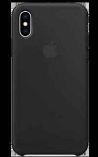 Accesoriu protectie spate Apple din silicon pentru iPhone XS negru