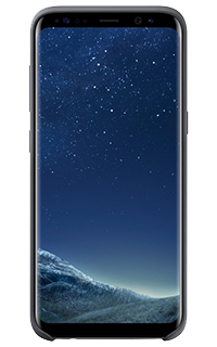Accesoriu protectie spate silicon Samsung pentru Samsung S8 gri