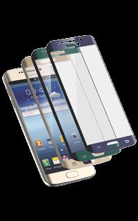 Accesoriu folie ecran 3D din sticla Cellara pentru Galaxy S6 Edge auriu