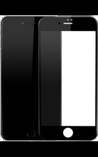 Accesoriu folie protectie din sticla 2.5 Mobiama pentru Iphone 7 neagra