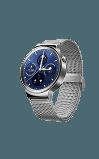 Huawei Watch W1 argintiu cu bratara plasa