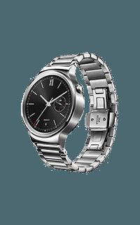 Huawei Watch W1 argintiu cu bratara zale