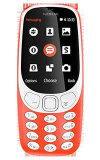 Nokia 3310 2017 Rosu