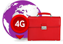 Servicii 4G international