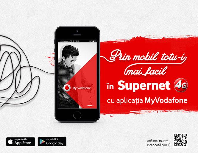 aplicația MyVodafone