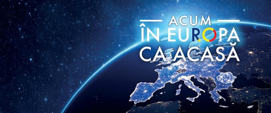 În Europa ca acasă