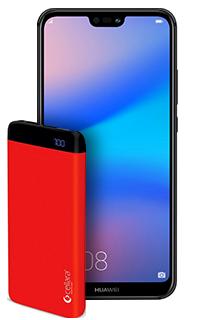 Huawei P20 Lite Dual Sim și baterie Cellara cadou